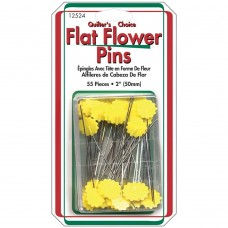 12524 - Flower Pins - 55 Ct