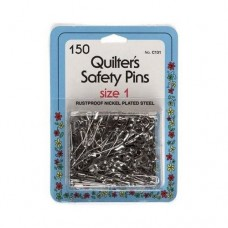 Quilters Safety Pins 1 150ct