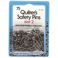 Quiltrs Safety Pins 2 75ct C132