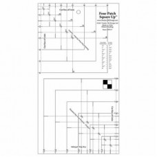 UDT17 - 4 Patch Square Up Ruler