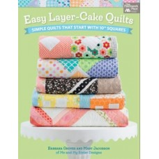 B1418 - Easy Layer Cake Quilts