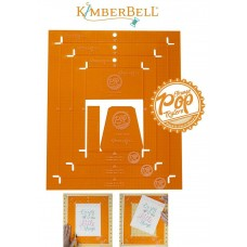 KIDTL102 - Ruler Set Orange Sq.