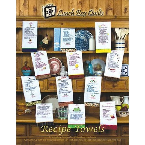 J LBQ Recipe Towels EC-RT1