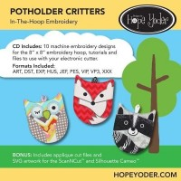 DHY-107 - Potholder Critters