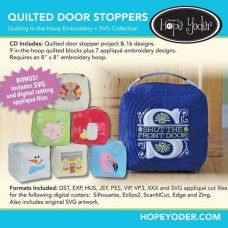 DHY-130 - Quilted Door Stop