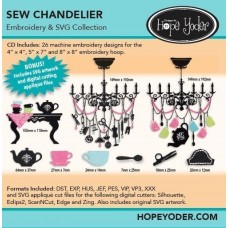DHY-133 - Sew Chandelier
