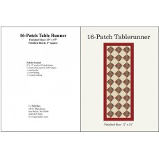 16 Patch Tablerunner