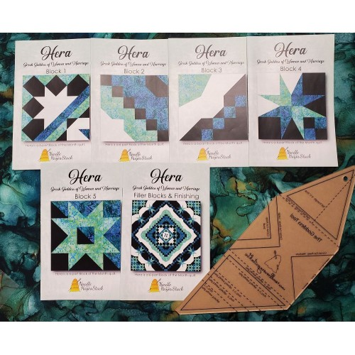 Hera Block of the Month with Goddess Tool Bundle
